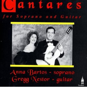 Cantares for Soprano and Guitar