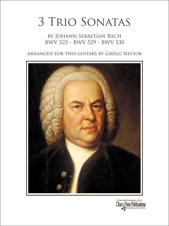 Bach: 3 Trio Sonatas at ClearNote