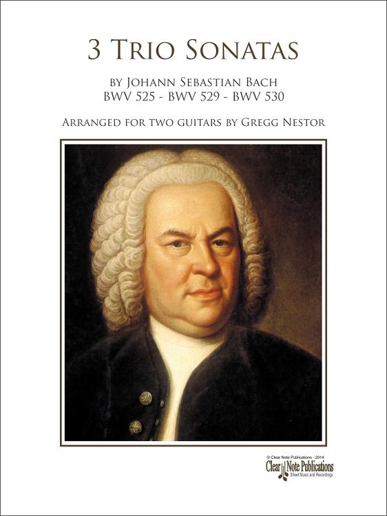 Bach: 3 Trio Sonatas at ClearNote
