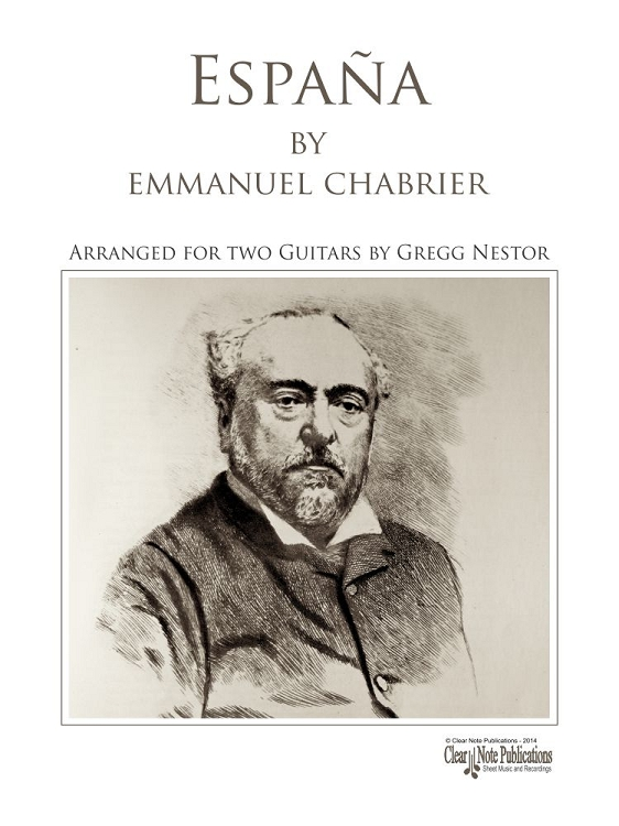 Chabrier: Espana for Two Guitars
