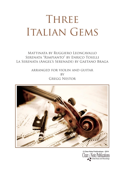 Three Italian Gems for Violin and Guitar
