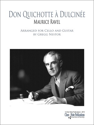 Ravel Don Quichotte Cover